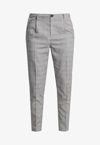 Cotton On - OXFORD TROUSER - Trousers - black prince of wales - 3