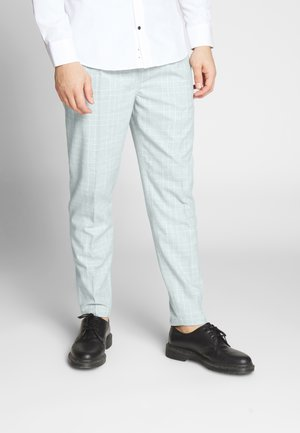 OXFORD TROUSER - Kalhoty - light grey/white