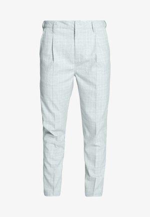 OXFORD TROUSER - Trousers - light grey/white