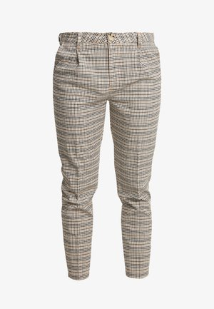 OXFORD TROUSER - Broek - brown mini check