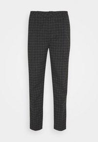 Cotton On - OXFORD TROUSER - Kalhoty - black/off-white - 3