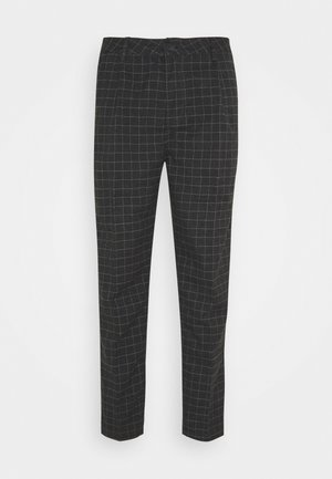 OXFORD TROUSER - Pantaloni - black/off-white
