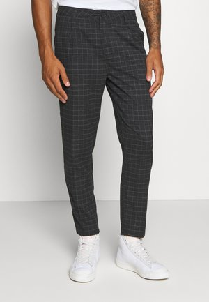 OXFORD TROUSER - Kalhoty - black/off-white