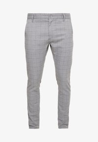 Cotton On - STRETCH CHECK - Broek - grey - 4