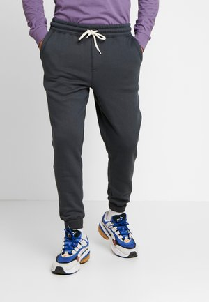 TRIPPY TRACKIE - Tracksuit bottoms - slate navy