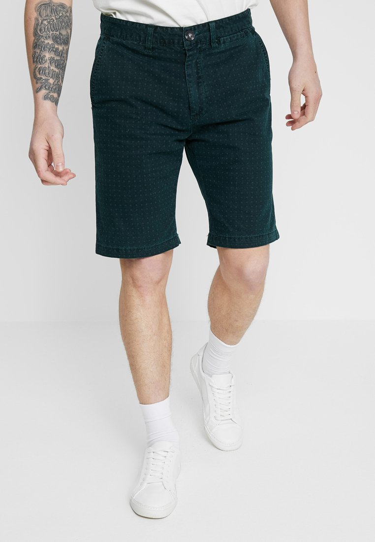 Cotton On - WASHED - Shorts - green/ditsy print