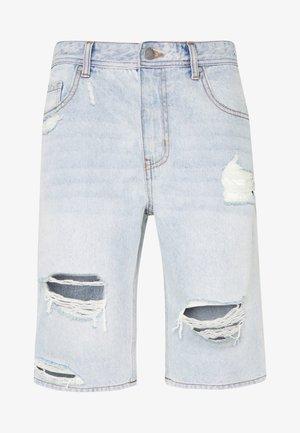 ROLLER - Short en jean - blue