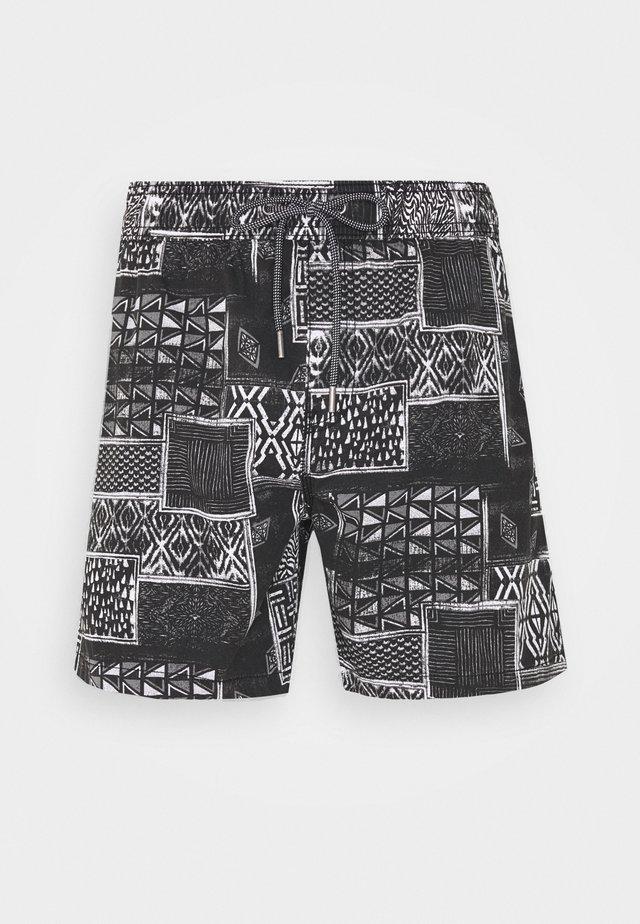 HOFF - Shorts - black/white