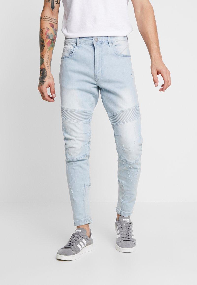 Cotton On - Zúžené džíny - ribbed tint blue