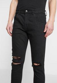 Cotton On - SUPER - Jeans Skinny Fit - jet black - 4