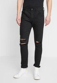 Cotton On - SUPER - Jeans Skinny Fit - jet black - 0