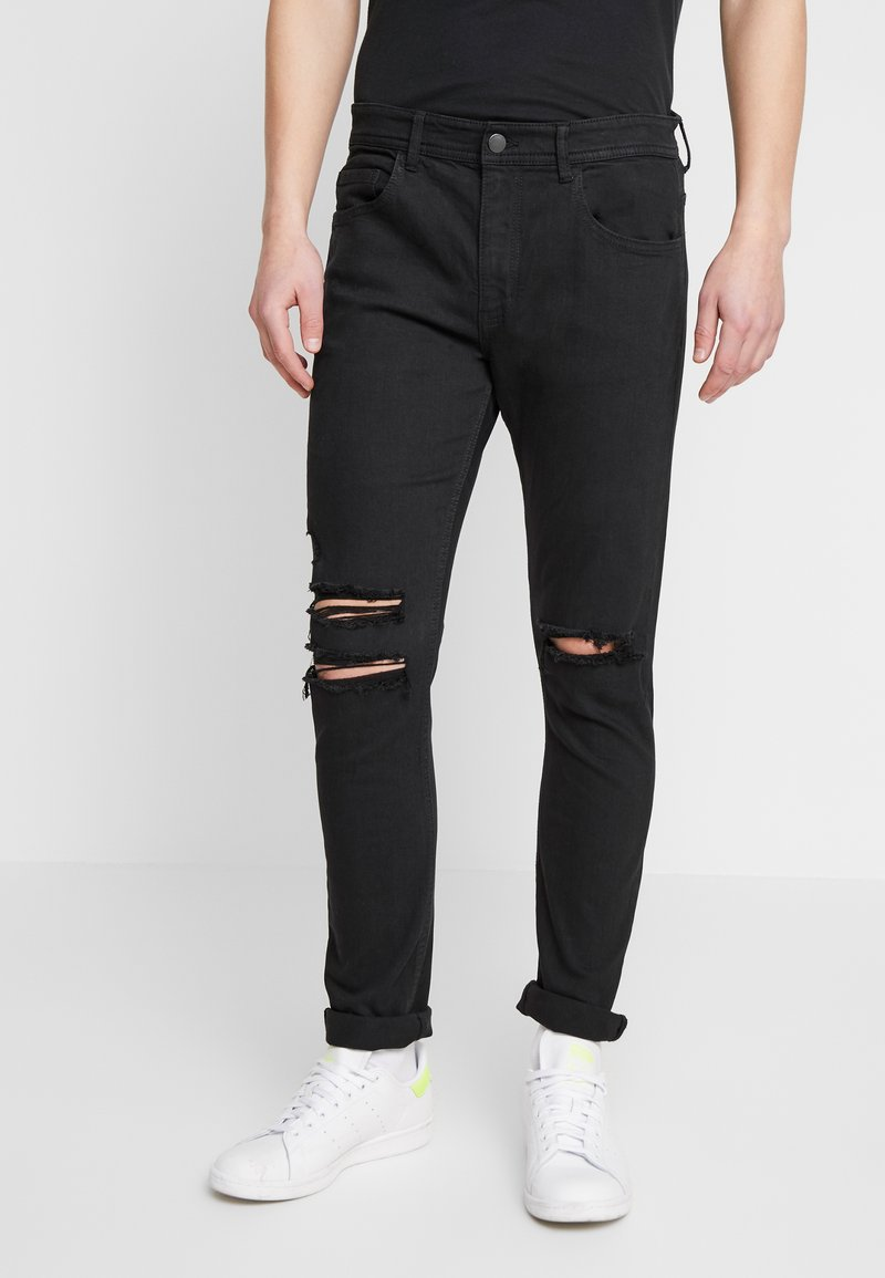 Cotton On - SUPER - Jeans Skinny Fit - jet black