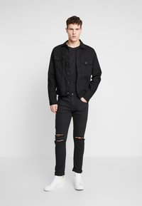 Cotton On - SUPER - Jeans Skinny Fit - jet black - 1