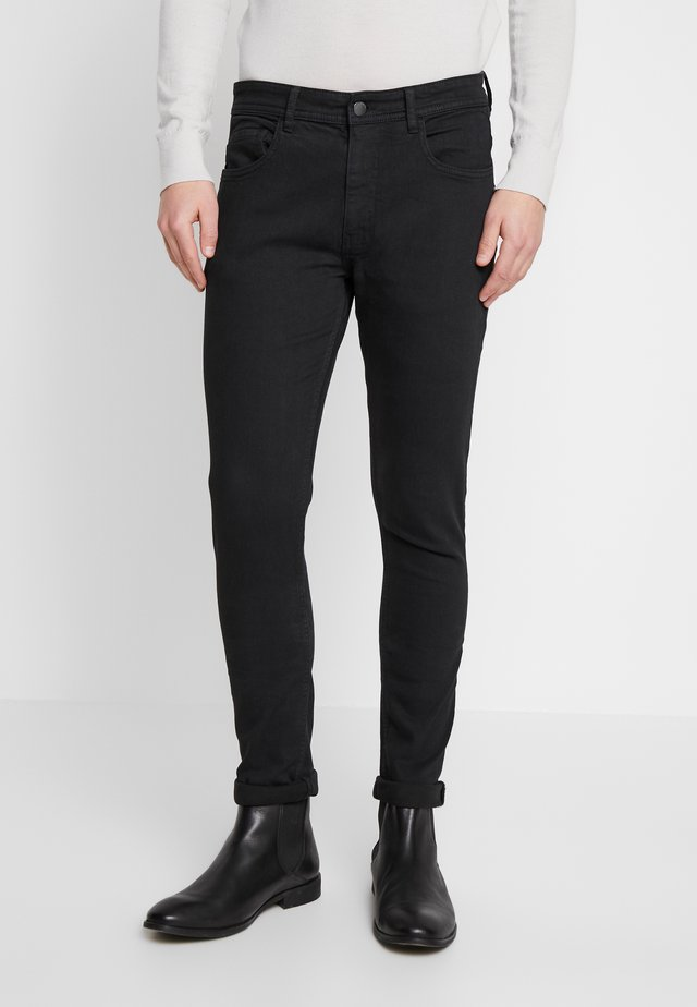 Jeansy Skinny Fit - new black