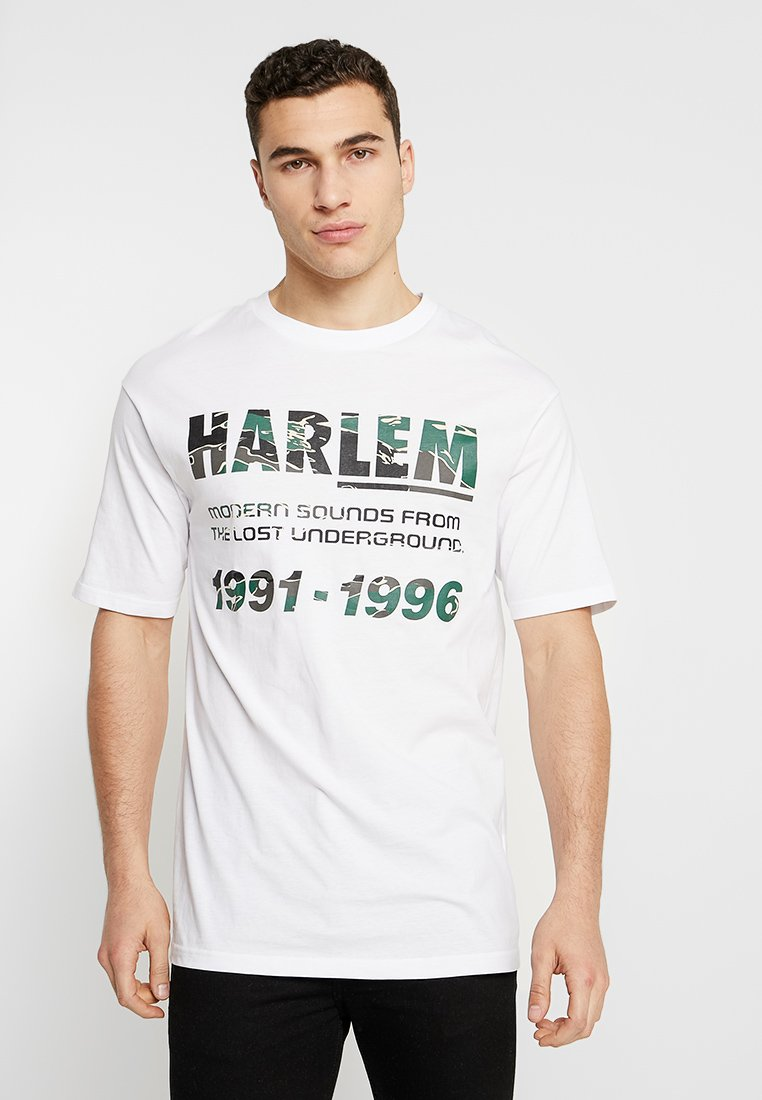 Cotton On - DROP SHOULDER LONGLINE - T-shirts med print - white