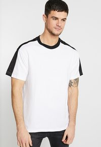 Cotton On - DOWNTOWN LOOSE FIT TEE - T-Shirt print - white - 0