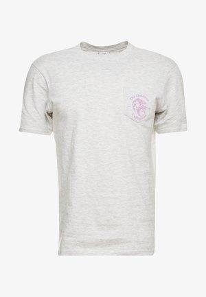 SOUVENIR - Print T-shirt - white marle/outdoors man