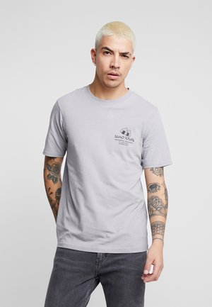 SOUVENIR - T-shirt med print - gun powder grey