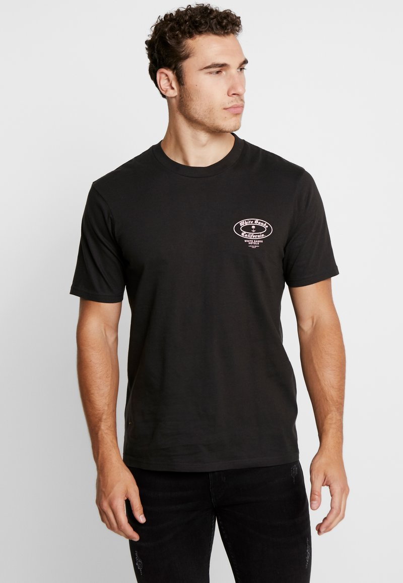 Cotton On - SOUVENIR - T-shirt print - washed black