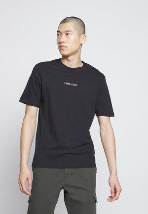 SOUVENIR - Print T-shirt - black/chop chop