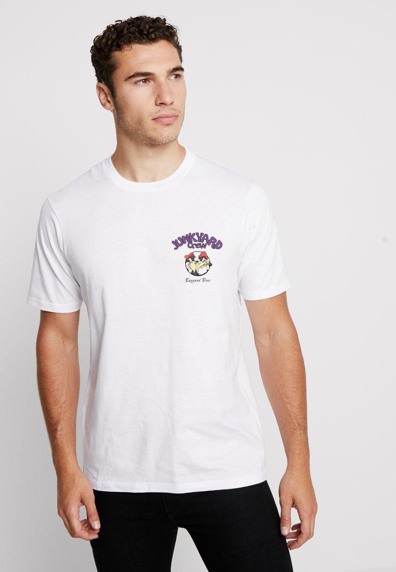 Cotton On - ART - T-shirt med print - white
