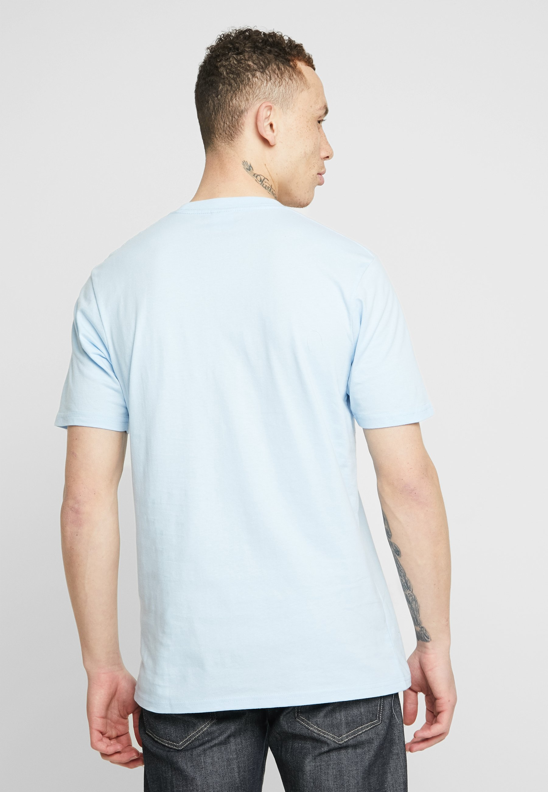 shirt Cotton Blue Con On ArtT Stampa Mist dtsQrChx
