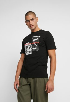 ART - T-shirt imprimé - black