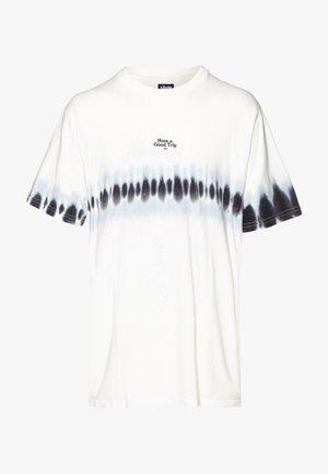 FESTIVAL TEE - Print T-shirt - vintage white/blue fog/washed black/light lilac
