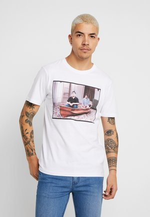 COLLAB MOVIE & TV - T-shirt imprimé - white