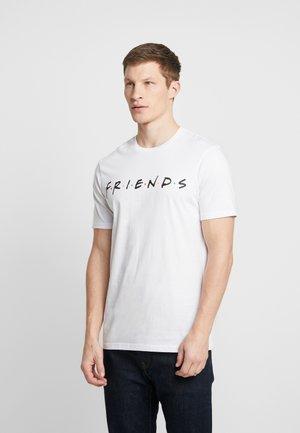 COLLAB MOVIE & TV - Camiseta estampada - white