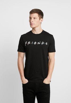 COLLAB MOVIE & TV - T-shirt z nadrukiem - black