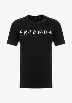COLLAB MOVIE & TV - Print T-shirt - black