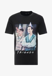 Cotton On - COLLAB MOVIE & TV - T-Shirt print - washed black - 3