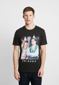 Cotton On - COLLAB MOVIE & TV - T-Shirt print - washed black - 0