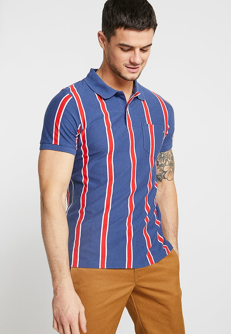 Cotton On - ICON  - Polo shirt - navy red