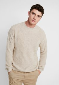 Cotton On - BOX CREW - Maglione - natural nep - 0