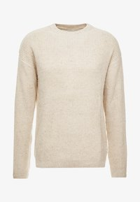 Cotton On - BOX CREW - Maglione - natural nep - 3