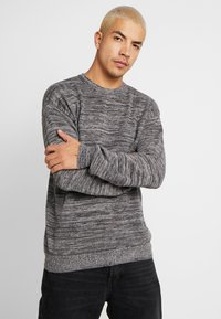 Cotton On - LIGHTWEIGHT CREW - Jumper - charcoal - 0