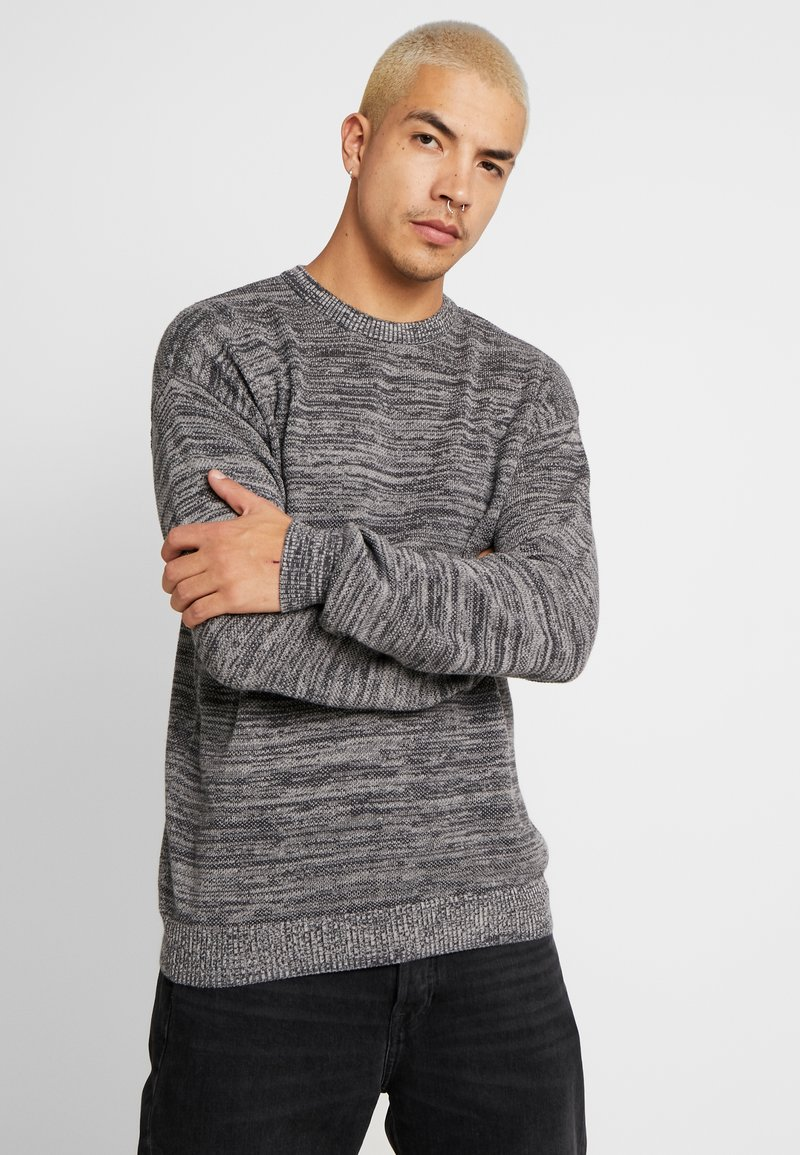 Cotton On - LIGHTWEIGHT CREW - Jumper - charcoal