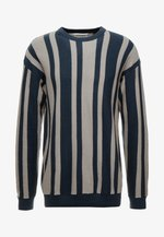 LIGHTWEIGHT CREW - Jumper - blue stripe