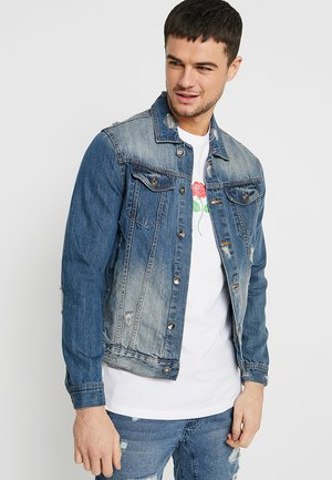 RODEO JACKET - Jeansjacka - distressed blue