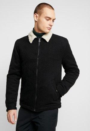 SHERPA TRUCKER JACKET - Light jacket - black