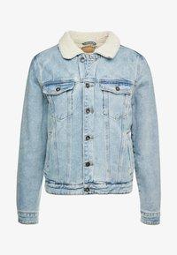 Cotton On - BORG JACKET - Lett jakke - distressed blue - 4