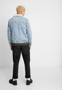 Cotton On - BORG JACKET - Lett jakke - distressed blue - 2