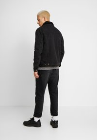 Cotton On - BORG JACKET - Lett jakke - black acid - 2