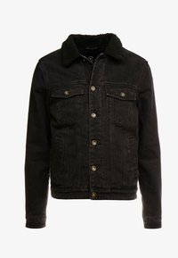 Cotton On - BORG JACKET - Lett jakke - black acid - 5