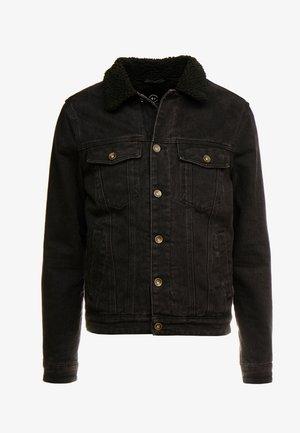 BORG JACKET - Lehká bunda - black acid