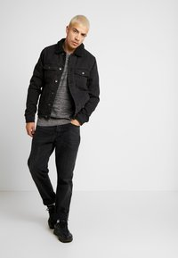Cotton On - BORG JACKET - Lett jakke - black acid - 1