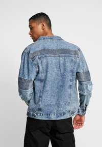Cotton On - MOTO JACKET - Jeansjakke - bleach - 2