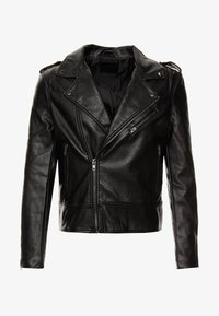 Cotton On - BIKER JACKET - Faux leather jacket - black - 5